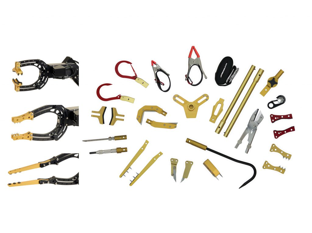 CALIBER® Robots SWAT EOD Claw Kit 2nd Gen
